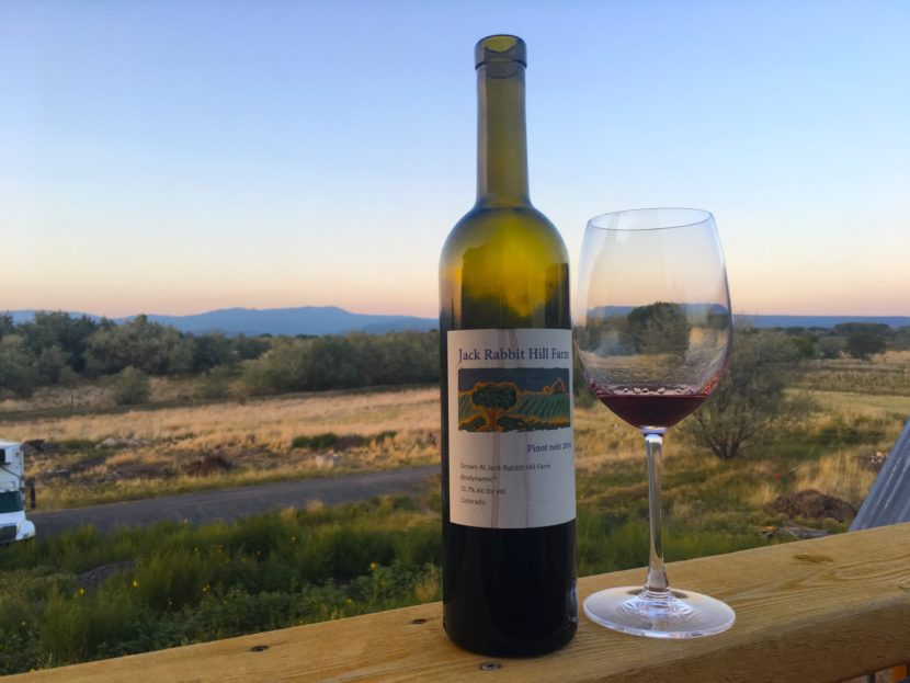 Colorado wine find one of its apexes at Jack Rabbit Hill Farm in Hotchkiss.
