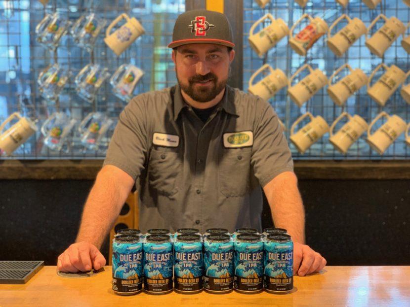 New England IPA capturing Colorado taste buds.