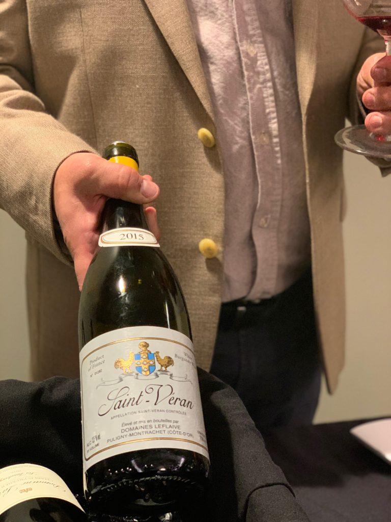 Boulder Burgundy Festival brings bottles like Saint-Veran fro LeFlaive to Boulder, Colorado